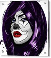 Clown Girl Acrylic Print