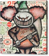 Clown Nightmare Acrylic Print