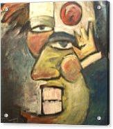 Clown Painting Acrylic Print