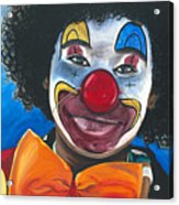 Clowning Around Acrylic Print