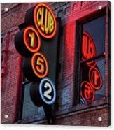 Club 152, Memphis Acrylic Print