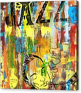 Club De Jazz Acrylic Print