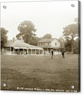 Club House And Golf Links, Old Del Monte, Monterey, California Circa 1920 Acrylic Print