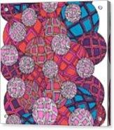 Cluster Of Spheres Acrylic Print