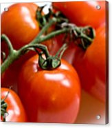 Cluster Of Tomatoes Acrylic Print