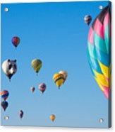 Cluttered Sky Acrylic Print