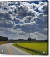 Clyde Fitzgerald Road Scenery Acrylic Print