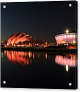 Clyde Twilight Reflections Acrylic Print