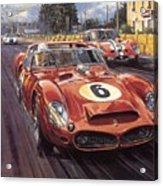 Cma 051 1962 Le Mans Ferrari 330 Driver Phil Hill Roy Rob Acrylic Print
