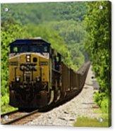 Coal Train Acrylic Print