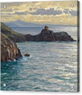 Coast At Amalfi Acrylic Print