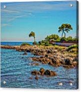 Coast At Antibes France Dsc02221 Acrylic Print