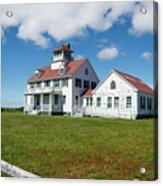 Coast Guard Building, Cape Cod Acrylic Print