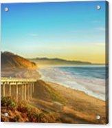 Coast Highway Del Mar Acrylic Print