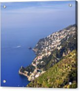 Coast Of Amalfi Acrylic Print