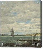 Coast Of Brittany Acrylic Print
