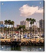 Coast Of Long Beach #3 Acrylic Print