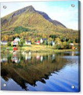 Coast Of Norway Reflections Acrylic Print