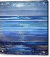 Coast Series Blue Am6 Acrylic Print