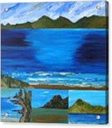 Coast To Coast Acrylic Print