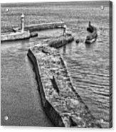 Coast - Whitby Harbour Acrylic Print