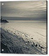 Coast With A Lighthouse Acrylic Print