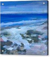 Coastal Blues Acrylic Print
