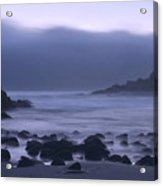 Coastal Fog - Big Sur Acrylic Print by Stephen  Vecchiotti