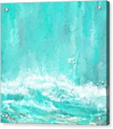 Coastal Inspired Art Acrylic Print