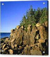 Coastal Maine Acrylic Print by John Greim