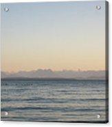 Coastal Mountains At Sunrise Acrylic Print