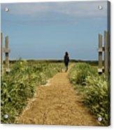 Coastal Path Acrylic Print