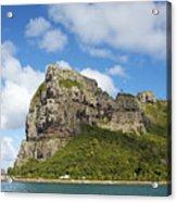 Coastal Peak Acrylic Print