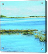 Coastal River Acrylic Print
