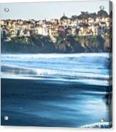 Coastal Scenes At Usa Pacific Coast Acrylic Print