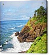 Coastal View From North Head Acrylic Print