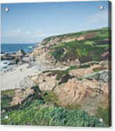 Coastal Views At Bodega Bay Acrylic Print