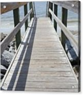 Coastal Walkway Acrylic Print