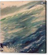 Coastal Waters Acrylic Print by Gregory Dallum