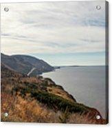 Coastline At Cape Breton Highlands National Park, Nova Scotia, C Acrylic Print
