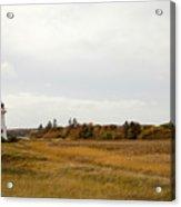 Coastline Of Prince Edward Island, Canada With Lighhouse Acrylic Print