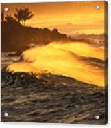 Coastline Sunset Acrylic Print