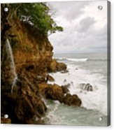 Coastline Waterfall Acrylic Print