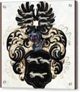 Coat Of Arms Black Acrylic Print