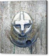 Cobalt Cat Acrylic Print
