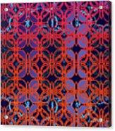 Cobalt Crimson Acrylic Print