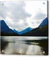 Cobalt Lake Acrylic Print
