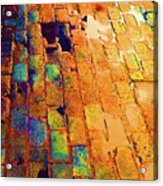 Cobble Stones In Color Acrylic Print