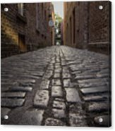 Cobbled Alley Acrylic Print