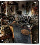 Cobbler's Shop Acrylic Print